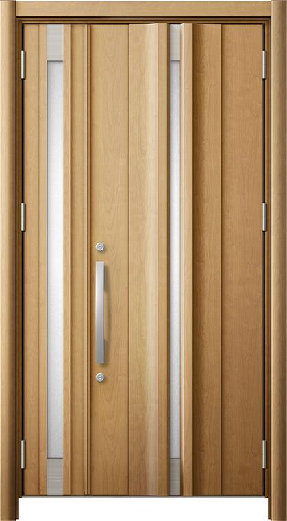 リシェントG13型 木目調 親子ドア ランマ無し 断熱仕様