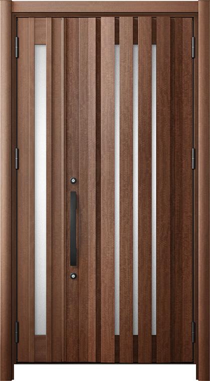 リシェントG14型 木目調 親子ドア ランマ無し 断熱仕様