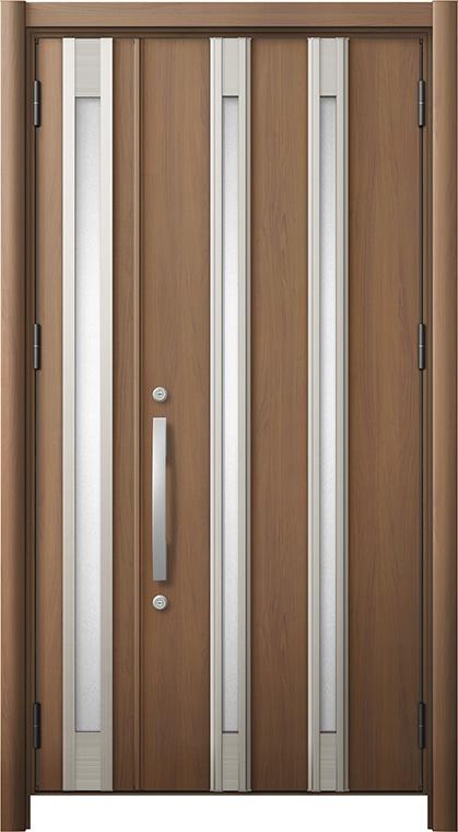 リシェントM24型 木目調  親子ドア ランマ無し 断熱仕様