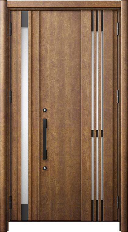 リシェントM83型 木目調  親子ドア ランマ無し 断熱仕様 採風タイプ