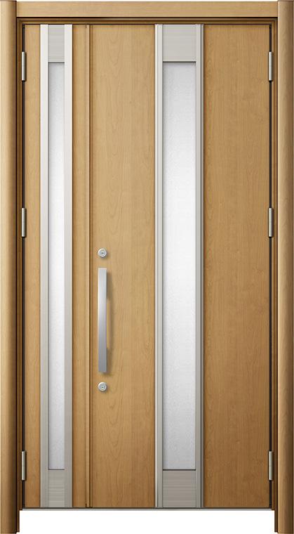 リシェントM77型 木目調  親子ドア ランマ無し 断熱仕様