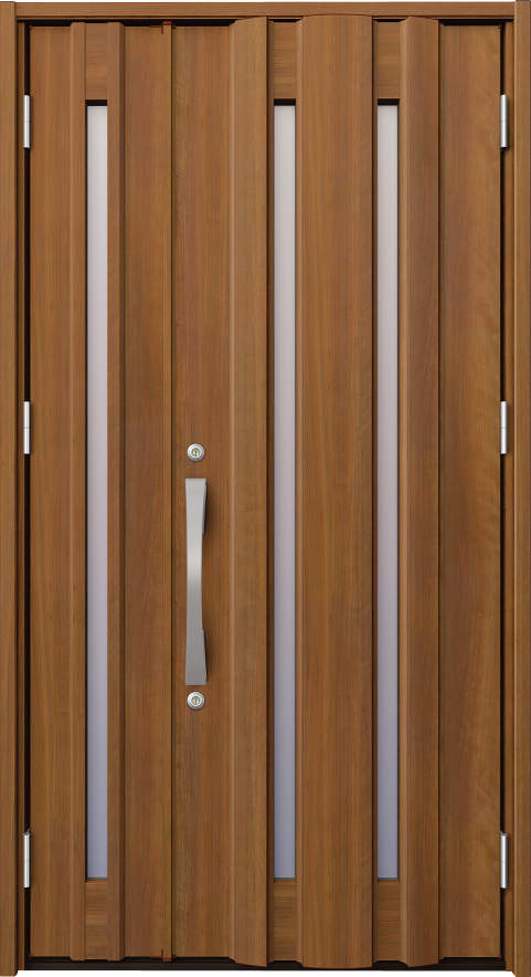 ノバリス A16 木調色 親子ドア ランマ無し K4 NO.2041