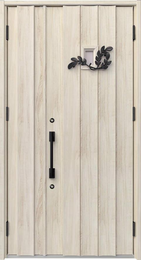 ノバリス C11 木調色 親子ドア ランマ無し K4 NO.2035