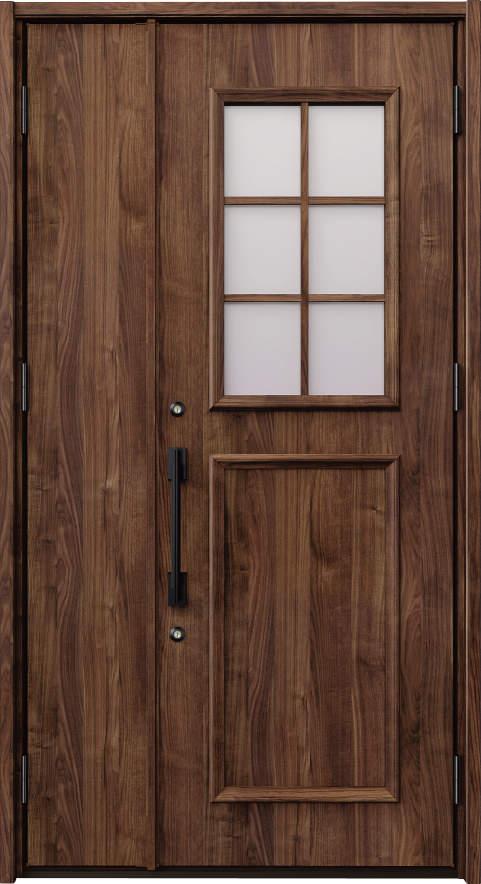 ノバリス C14 木調色 親子ドア ランマ無し K4 NO.2009