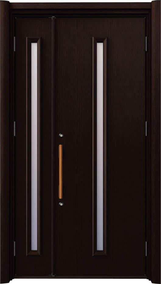 ノバリス A81 木調色 親子ドア ランマ無し K4 NO.2016