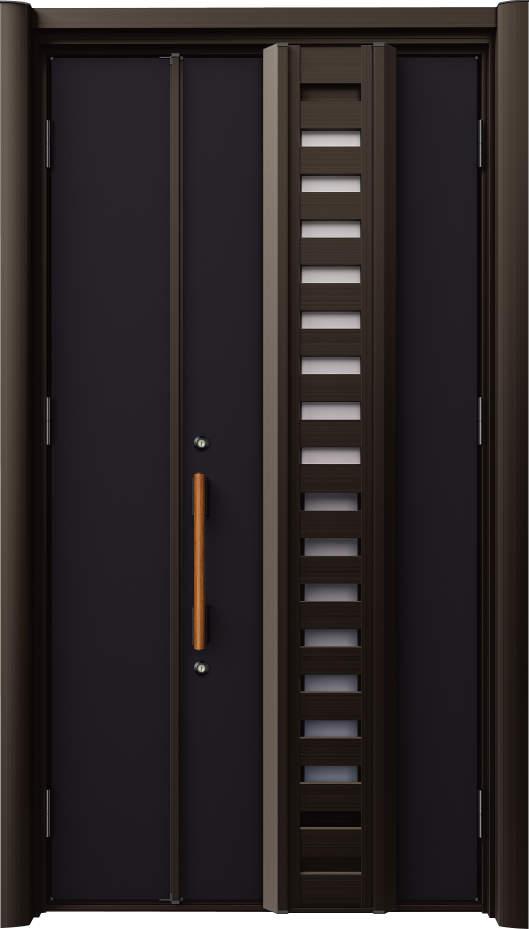 ノバリス H81 木調色 親子ドア ランマ無し K4 NO.2040