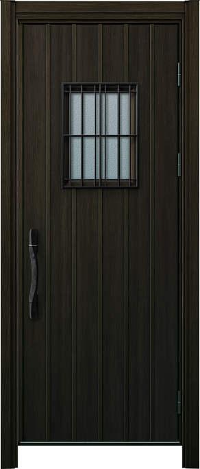 かんたんドアリモ 玄関ドア 断熱タイプ W15V ランマ無 片開き 外額縁77 W6 ピタットKey 洋風カーブ Aタイプ NO.1215