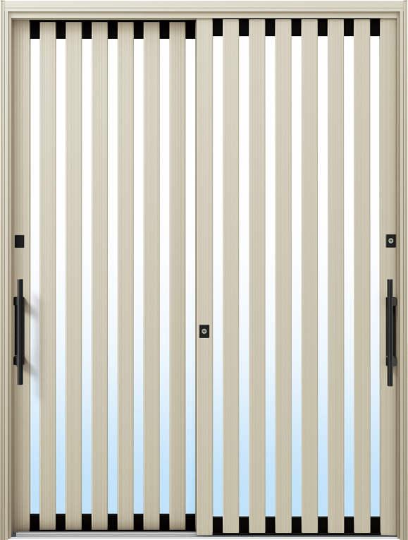 かんたんドアリモ 玄関引戸 現代和風 C01 ランマ無 H2:プラチナステン 外側バーハンドル(ブラック)複層・単板ガラス仕様 NO.1039