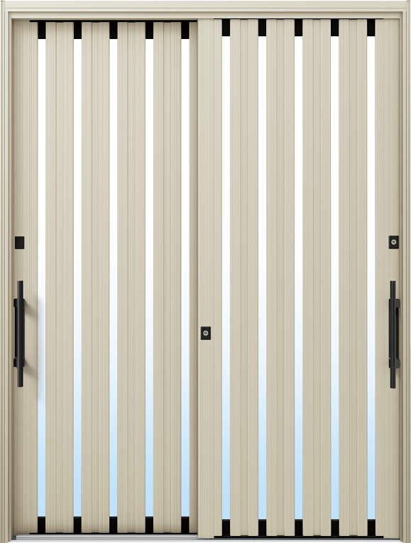 かんたんドアリモ 玄関引戸 現代和風 C03 ランマ無 H2:プラチナステン 外側バーハンドル(ブラック)複層・単板ガラス仕様 NO.1042
