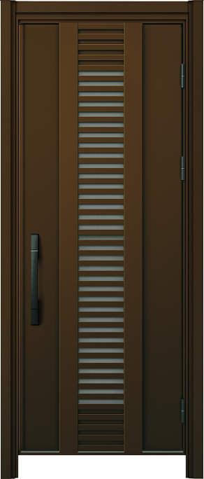かんたんドアリモ 玄関ドア 断熱タイプ S16V ランマ無 片開き 外額縁77 B1 手動錠 ストレート ブラック Cタイプ NO.1212
