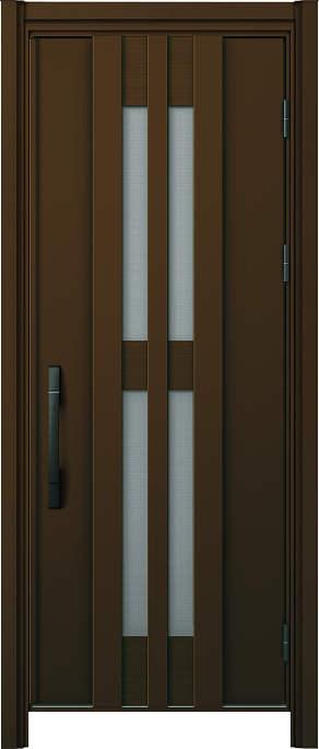 かんたんドアリモ 玄関ドア 断熱タイプ S17V ランマ無 片開き 外額縁77 B1 手動錠 ストレート ブラック Cタイプ NO.1213