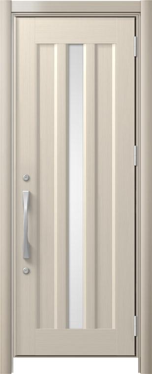 リシェントⅡ玄関ドアアルミ仕様(単品)C12 片開き シャイングレー NO.92