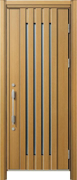 簡単ドアリモ玄関ドア 断熱タイプ C03 片開き 外額縁80 角型ストレート シルバー
