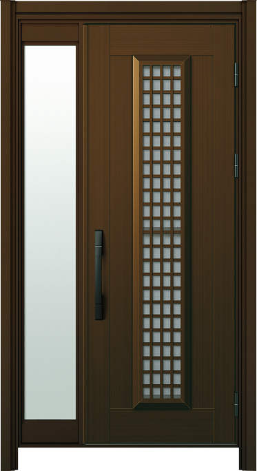 S12p アルミタイプ・片袖 FIX ・通風タイプ・ピタット Key(カードキー)・基本色(アルミ色) NO.115